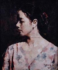 女子肖像 by lin yongkang