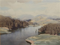 tarn hows, coniston by william heaton cooper