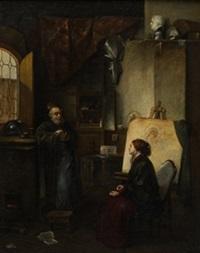 estudio del pintor by gerrit dou