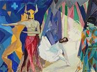 en prøvetime bag kulisserne på baletten asra, indisk ballet, 48 by carlo rosberg