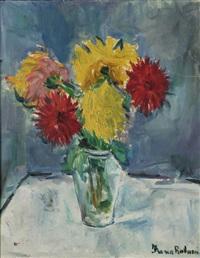 vaso con fiori by franca robuzzi