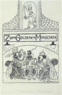illustrationen zu werken von christian morgenstern by rudolf herrmann