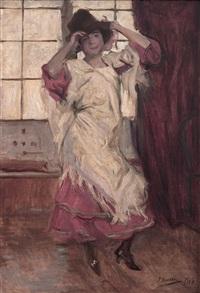 joven bailando by josé marie de la bastida y fernandez