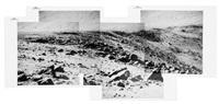 telephoto panorama of hadley rille's east wall below mount hadley delta by david scott
