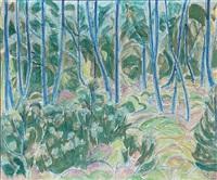 forest scene by christine swane