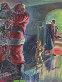 bad santa by norman baer