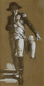 napoleon-studie by franz xavier simm