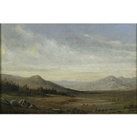 a california landscape by frederick a. butman
