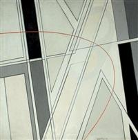 harmonie en gris, espace brisé by silvano bozzolini