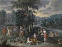 allegorie des herbstes by jan van den hoecke