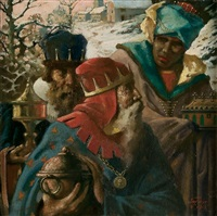 the three kings by gustav eyer