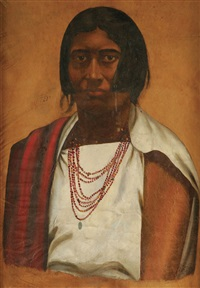 portrait of indigenous mexican by jose jara
