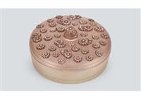 box with lid : deux a deux by rené lalique
