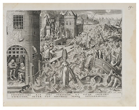 spes allegory of hopefrom the seven virtues by pieter brueghel the elder