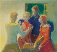 familienbild by georg jung