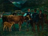 feria de ganado en muga by alberto arrúe
