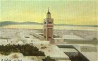 le minaret, tunis by roméo aglietti