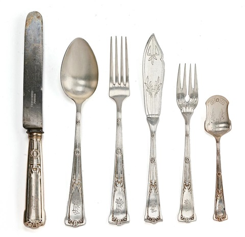 cubertería set of 123 by cabot soler