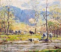 in springtime by george glenn newell