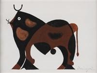 taureau by oscar domínguez