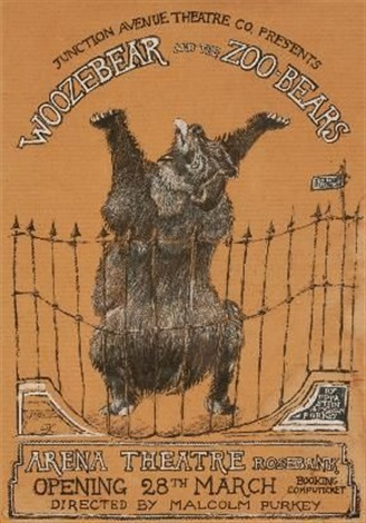 woozebear and the zoo bears by william kentridge