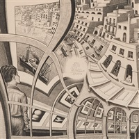 print gallery (prentententoonstelling) by m. c. escher