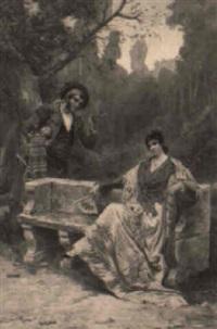 donna spagnnola e torero by rosano