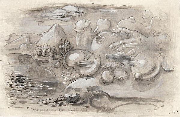 metamorphose der landschaft 2 erotica by rudolf rudi baerwind