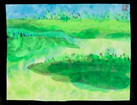 greeny heath by walasse ting
