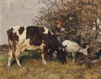 the young herder by julius paul junghanns