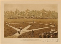 the american national game of baseball by a. ackermann and son