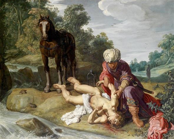 der barmherzige samariter by pieter lastman