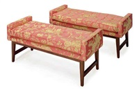 window benches (pair) by jonathan adler