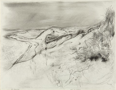 dune at wellfleet by george grosz