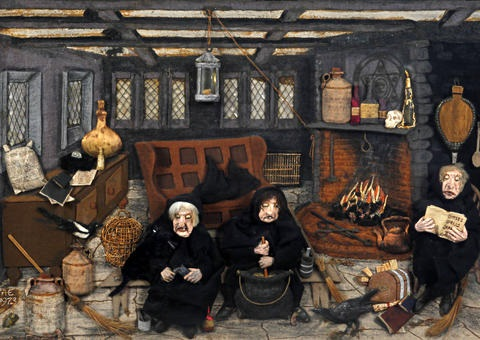 tea in the parlor the pendle witches ii 2 works by ada eastwood