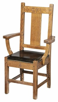 Roycroft Arts And Crafts Chair From The , 1900u20131925