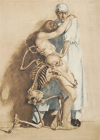 Arzt Tod Und Mädchen By Ivo Saliger On Artnet