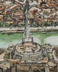 roma, castel s. angelo by ralph fleck