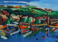 hebden bridge marina by olivia pilling