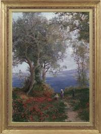 estate, la raccolta dei fiori by leonardo roda