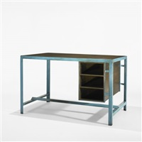 desk by a. r. prabhawalkar and pierre jeanneret