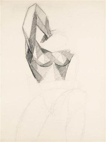 ÉTUDE DUN BUSTE DE FEMME, BRAS LEVÉ by Pablo Picasso on artnet