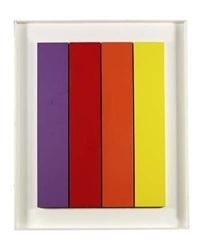 vier farbige streifen (in 4 parts) by hermann bartels