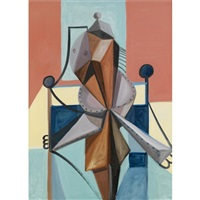 standing form by george condo