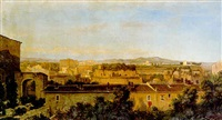the palatine hill, rome by julius zielke