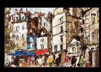 mt. michel (+ rue mouffetard; 2 works) by takuji seki