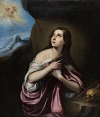 magdalena penitente by bartolomé esteban murillo