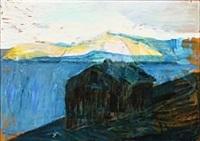faroese landscape by joannis kristiansen