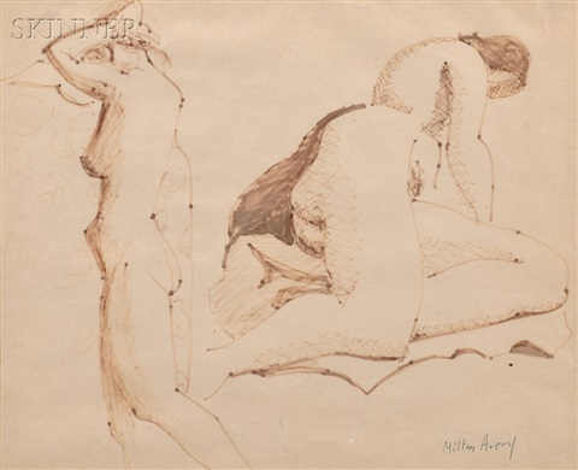 two studies by milton avery