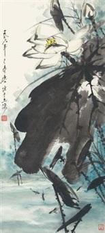 游鱼图 by tang yun